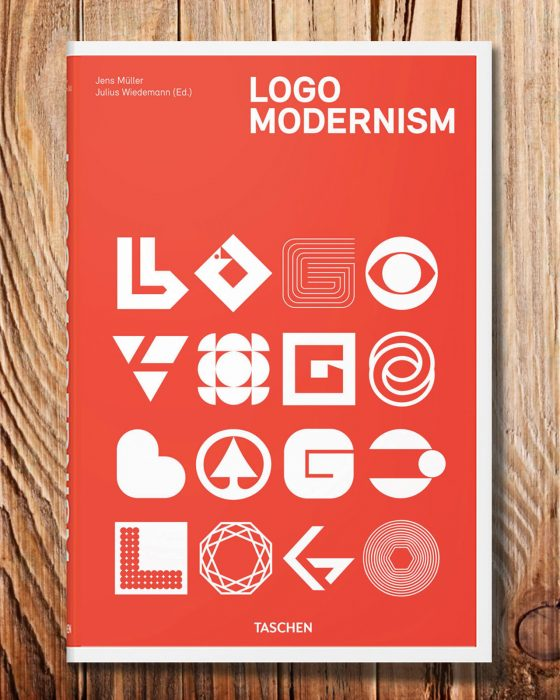 AR book cover logo modernism